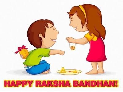 Happy Raksha Bandhan Rakhi Festival