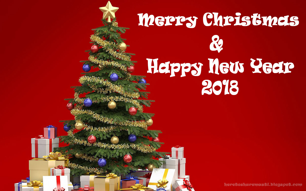 Wishing You Merry Christmas Happy New Year Chutkule Jokes Sms